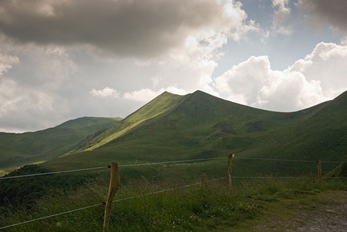 Travel images of Auvergne