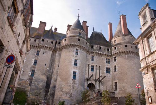 Travel images of Langeais Castle