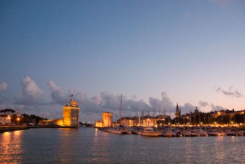 La Rochelle's harbour