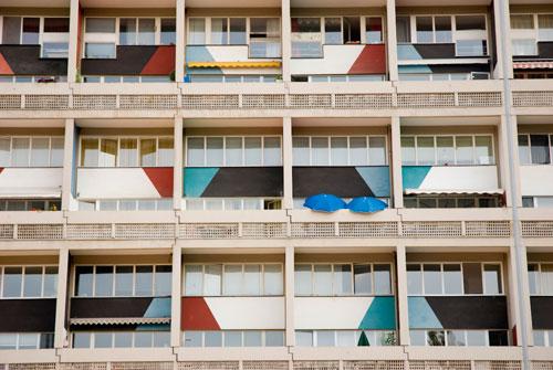 Berlin - Le Corbusier - Cité Radieuse