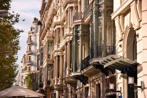 Passeig Gracia in Barcelona