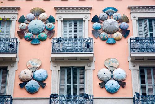 Barcelona Casa de los Paraguas
